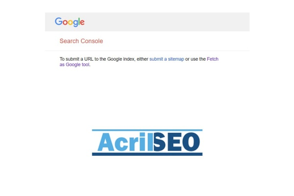 Search Engine Submission-Acril SEO
