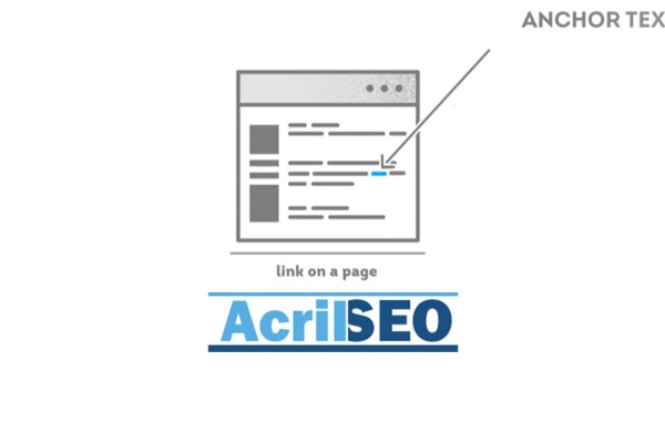 anchor text -Acril SEO